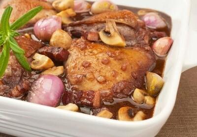 Coq au vin (350 gr)