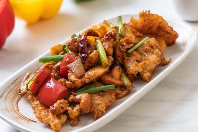 Poulet et légumes grilles teriyaki - 2 personnes