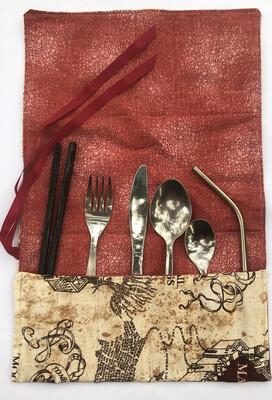 Travel Cutlery Roll