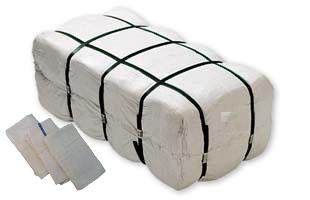 16x19 Bar Mops in Bags - 60 pcs per bag. 9 LBS 100 % cotton.