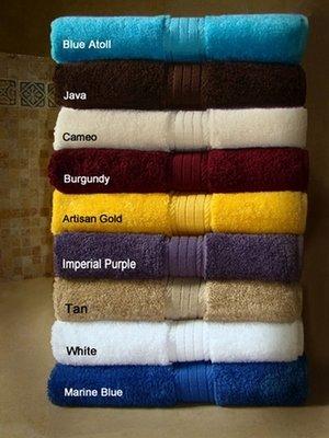 30x54 Luxurious Bath Towels By Crown Jewel , 18.0 Lbs Per Dz, 100% Giza Egyptian Cotton