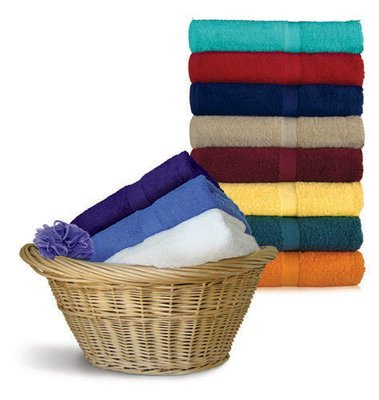 24x48 Bath Towels by Royal Comfort, 9.0 Lbs per dz, Combed Cotton
