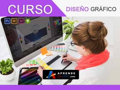 Curso Diseño Gráfico - Aprende de Cero
