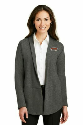 Port Authority® Ladies Interlock Cardigan.