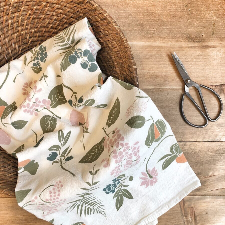 june and december kitchen towels