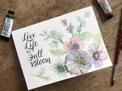 Life in Full Bloom no.c14