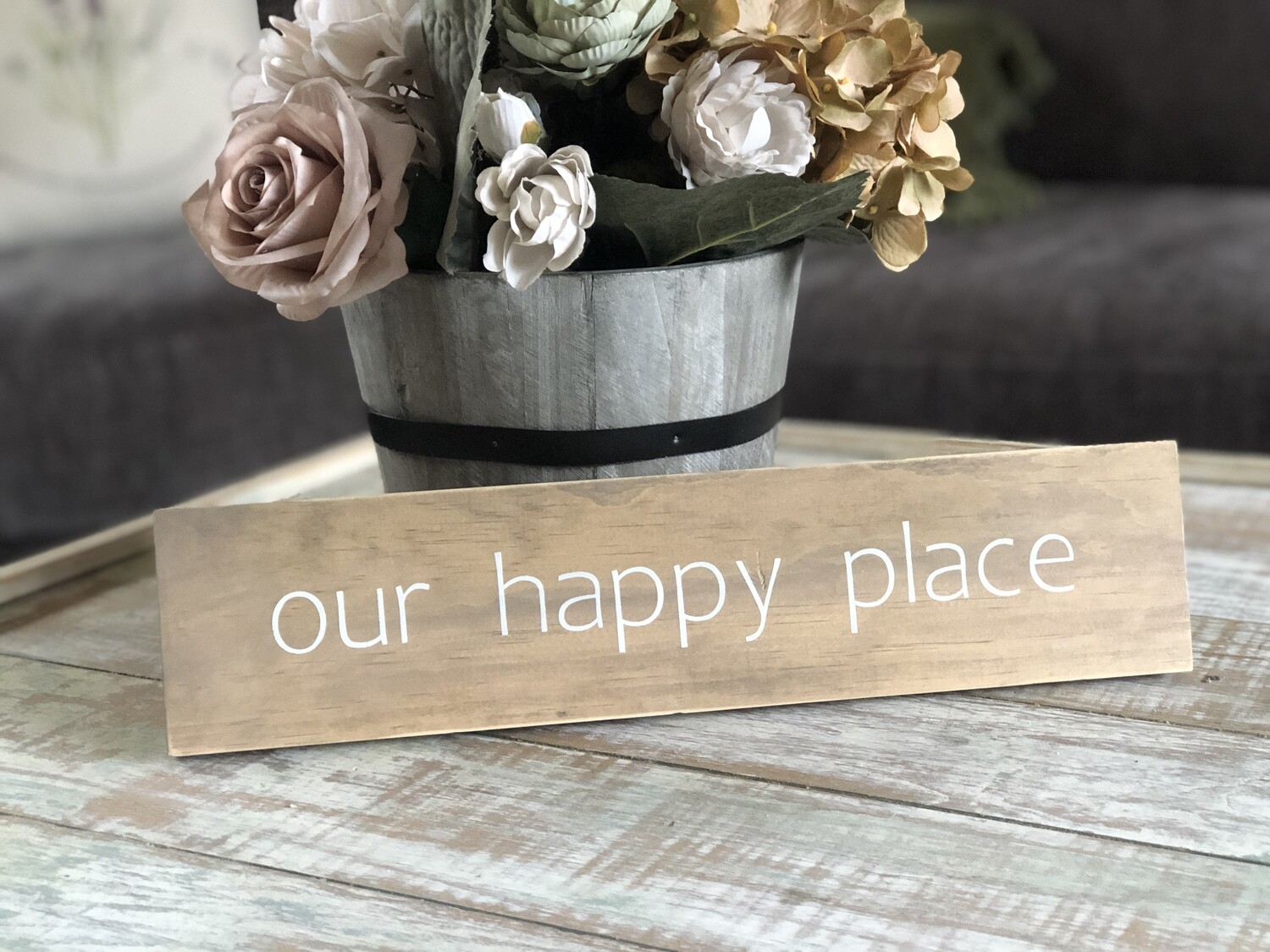 Our Happy Place sign no. S127