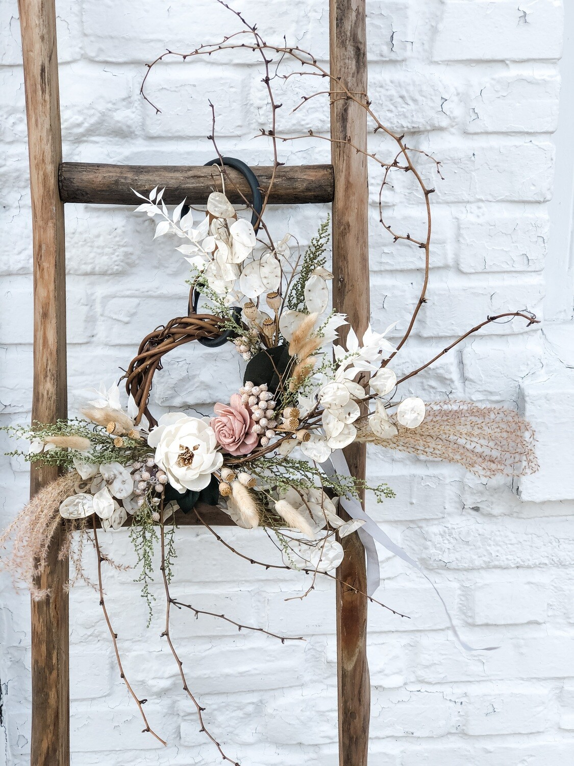 Dried Flower Wreath no. W142