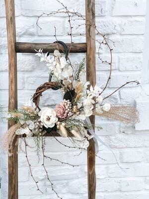 Dried Flower Wreath no. W142