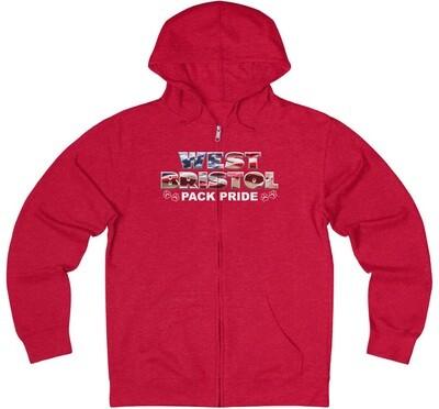 WB Pack Pride - Adult Zip Hoodie