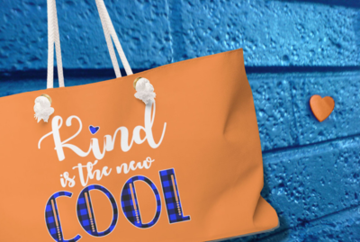 Kind is the New Cool - Weekender Bag