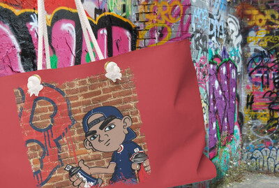 Graffiti RedSox - Weekender Bag
