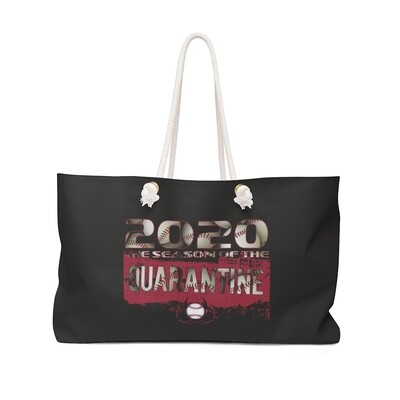 2020 Quarantined Baseball RED - Weekender Bag