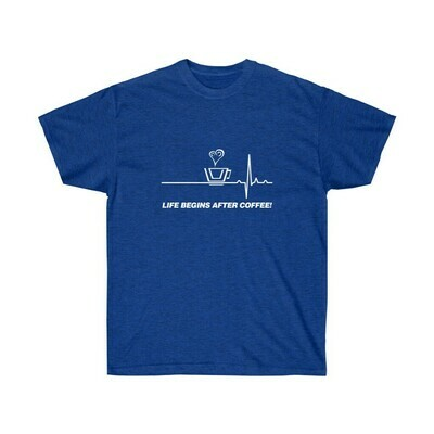 Life Begins After Coffee - Adult Crew