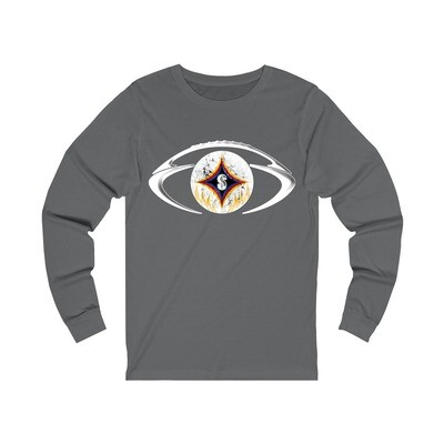 The Black & Gold Football - Adult Long Sleeve Shirt