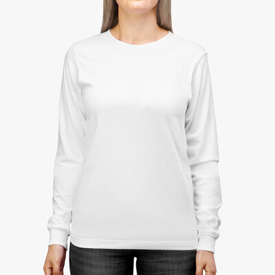 CUSTOM DESIGN - Bella+Canvas 3501 - Adult Long Sleeve Shirt