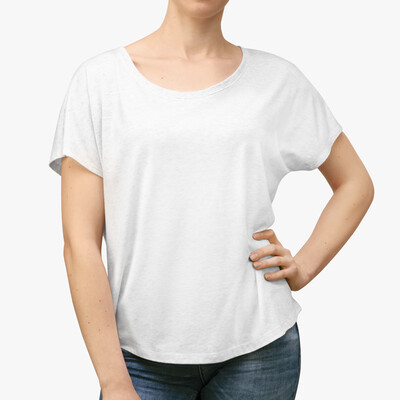 CUSTOM DESIGN - Next Level 6760 - Women's Dolman Tee