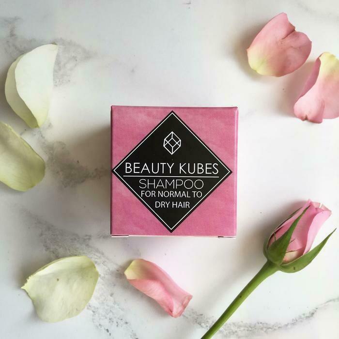 Beauty Kubes šampon v kockah - normalni do suhi lasje