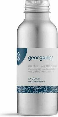 Ustno olje Georganics - poprova meta