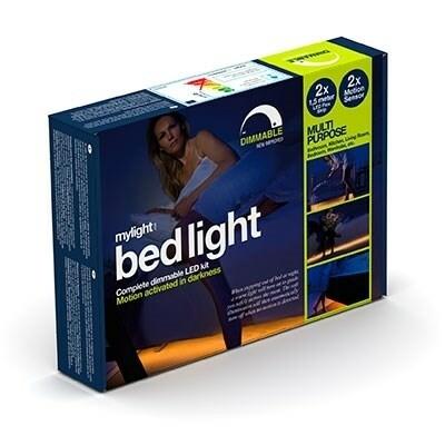 Bed light 2 x 1,5 m dimbar 2 st rörelsesensorer
