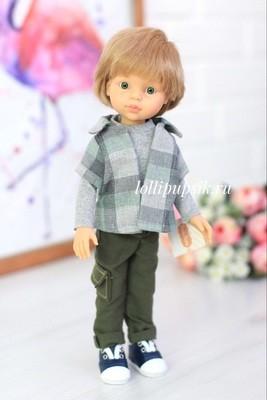 Кукла Паола Рейна мальчик Луис в одежде (Паола Рейна), 34 см