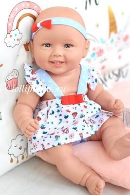 Кукла виниловая Manolo Dolls DIANA (в легком платьице) 50 см