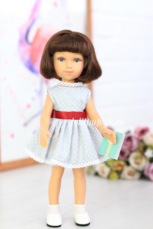 Кукла Эстель с каре в платье (Паола Рейна), 34 см