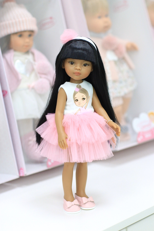 ПРЕДЗАКАЗ. Отправка после 22 июня. Кукла Мэйли в платье Паола Рейна (Paola Reina), 34 см