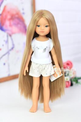 ПРЕДЗАКАЗ. Отправка после 22 июня. Кукла Маника Рапунцель с длинными волосами в пижаме (Паола Рейна), 34 см