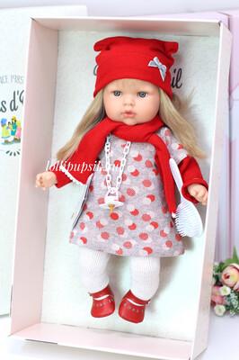 Кукла Тита с длинными светлыми волосами, 45 см