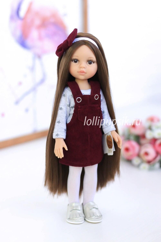 ПРЕДЗАКАЗ. Отправка после 22 июня. Кукла Кэрол Рапунцель с длинными волосами в модной одежде (Паола Рейна), 34 см
