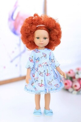 Кукла Каролина Паола Рейна в летнем платье , 34 см