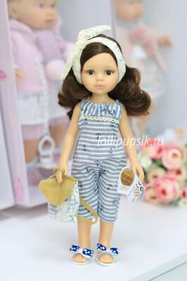 Кукла Кэрол с волосами по пояс в модной летней одежде (Паола Рейна), 34 см