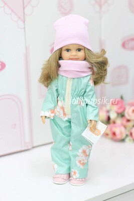 Кукла Клео в демисезонном комбинезоне, Паола Рейна , 34 см