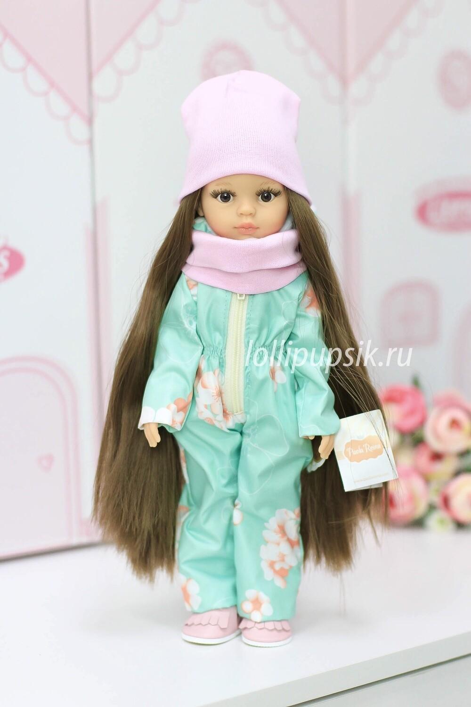 ПРЕДЗАКАЗ. Отправка после 22 июня. Кукла Кэрол Рапунцель с длинными волосами в демисезонном комбинезоне  (Паола Рейна), 34 см