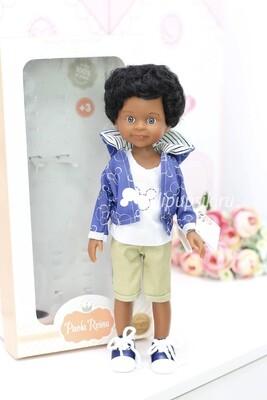 Кукла Кайэтано мальчик мулат, Паола Рейна, 34 см
