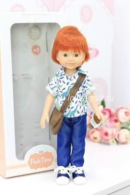 Кукла Крис рыжий мальчик, Паола Рейна, 34 см