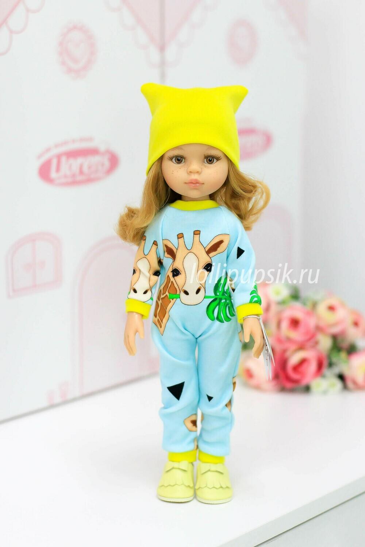 ПРЕДЗАКАЗ. Отправка после 22 июня. Кукла Даша в модной одежде (Паола Рейна), 34 см