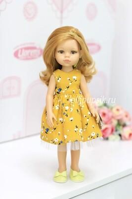 Кукла Даша в летнем платье (Паола Рейна), 34 см