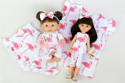 Летний комплект «Фламинго»