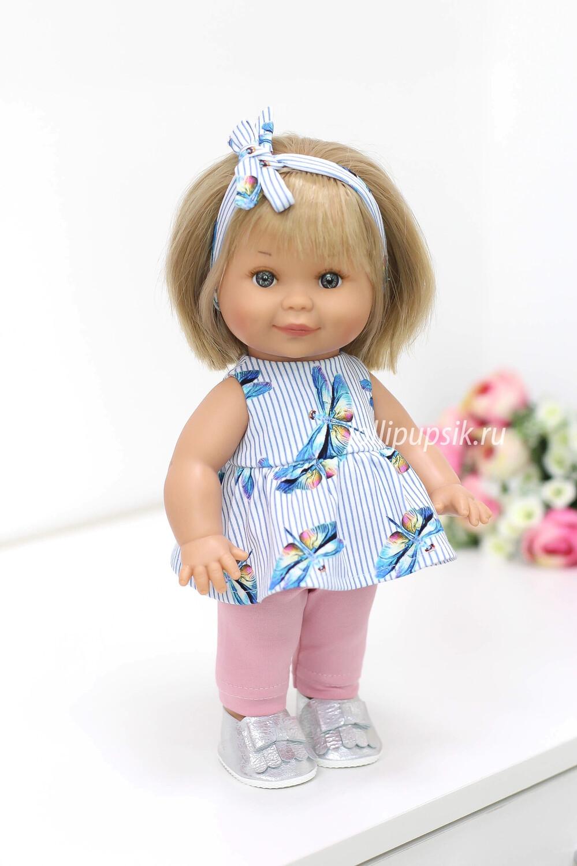 Кукла Бетти с ароматом карамели, 30 см (в летнем комплекте) Lamagik Magic Baby