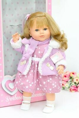 Кукла Carla, бренд Berbesa, с волнистыми волосами, 52 см