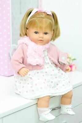 Кукла Carla, бренд Berbesa, с прямыми волосами, 52 см