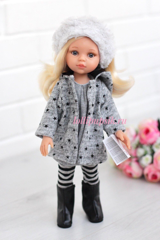 Кукла Клаудия в модной одежде Паола Рейна, 34 см