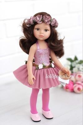 Кукла Кэрол балерина, с карими глазами (Паола Рейна), 34 см