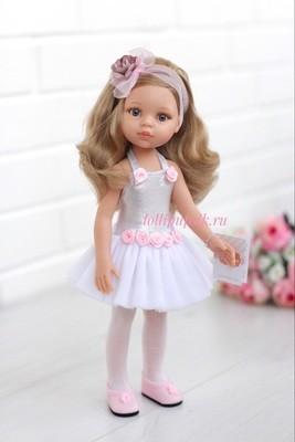 Кукла Карла балерина, с серыми глазами (Паола Рейна), 34 см