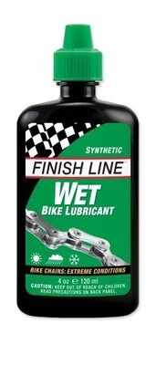 Finishline Wet Bike Lubricant 120ml