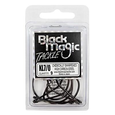 KL 7/0 Black Hooks