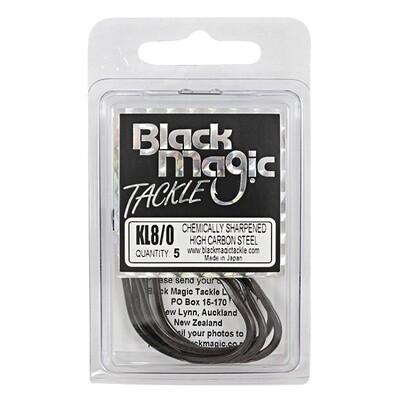 KL 8/0 Black Hooks