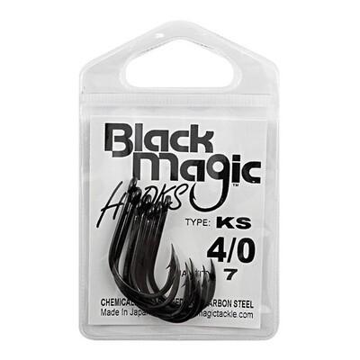 K/S 4/0 Black Hooks